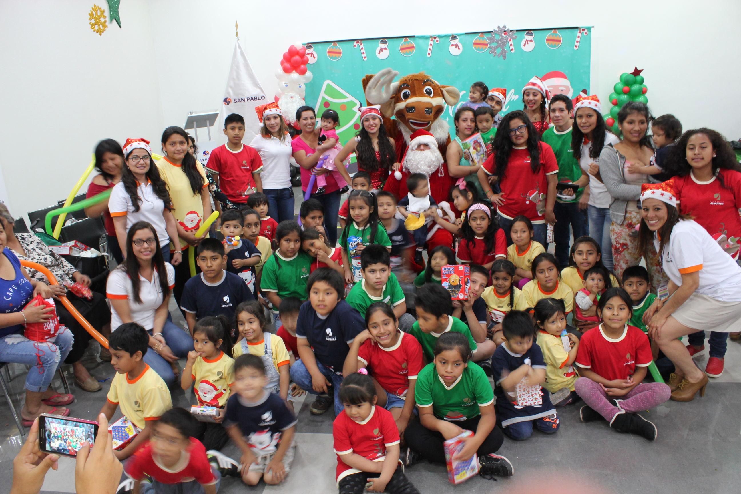La Navidad se adelantó en la Fundación Alvartez