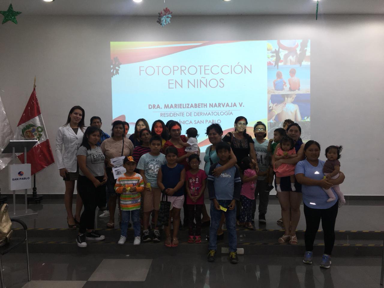 """Taller """"Fotoprotección en niños"""" – Enero 2019"""
